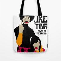 tina Tote Bags featuring IKE & TINA by zzglam