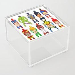 Superhero Butts Acrylic Box