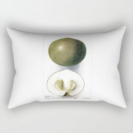 White Sapote Rectangular Pillow