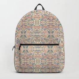 Anna's Cottage Pattern Print Design Backpack