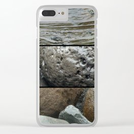 Mineral wet Clear iPhone Case