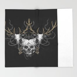 Oh Deer Throw Blanket