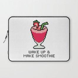 Wake Up & Make Smoothie Laptop Sleeve