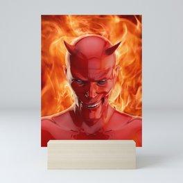 The devil Mini Art Print