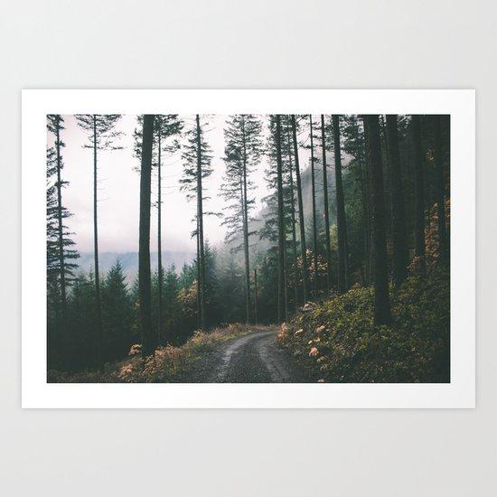Drive IX Art Print