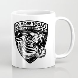 RIDE THE SKY - Black Coffee Mug