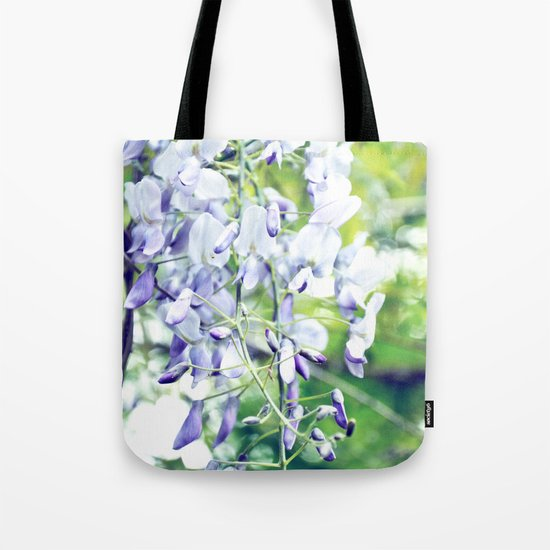 LOVELY WISTERIA Tote Bag