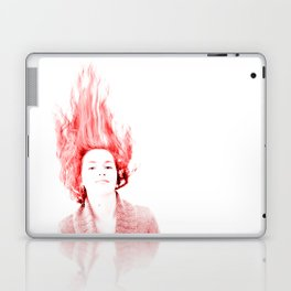 Caroline Audebert on Fire Laptop & iPad Skin