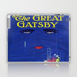 The Great Gatsby vintage book cover - Fitzgerald Laptop & iPad Skin