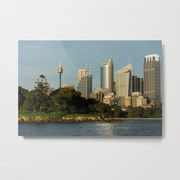 Mrs Macquarie's Chair, Sydney Metal Print