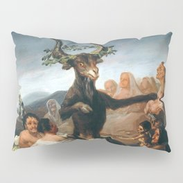 The Sabbath of Witches Goya Painting Pillow Sham