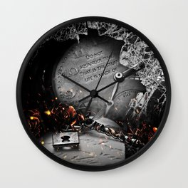 Do Not Squander Time Wall Clock