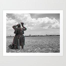 Lake Ttiticaca Art Print