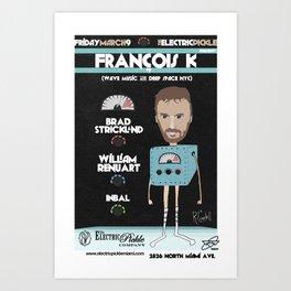 FranÇois K Flier Art Print