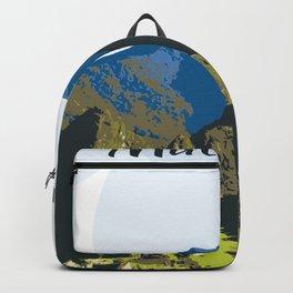 Machu Pichu Peru Art Backpack