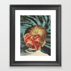 Spaghetti nights Framed Art Print