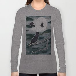 Crow Moon Long Sleeve T-shirt