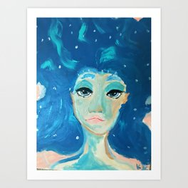 The Universal Sea Art Print