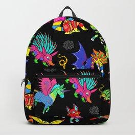 Toony Alebrijes Black BG Backpack