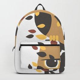 Ya Realy Funny Grumpy Owl Backpack
