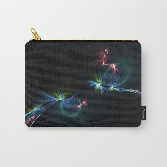 Fey Lights Fractal in Aurora 01 Carry-All Pouch