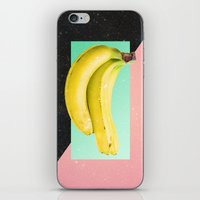 eat iPhone & iPod Skins featuring Eat Banana by Danny Ivan