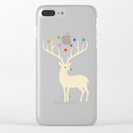 My Deer Universe Clear iPhone Case