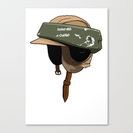 Rebel with a cause Canvas Print