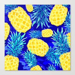 Pineapple Love Canvas Print
