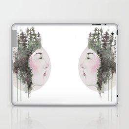 """Sometimes, even the snow is sad."" Laptop & iPad Skin"