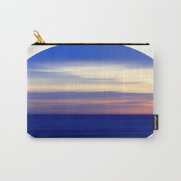 Colorful Ocean Horizontal Carry-All Pouch