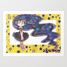 SS - Galaxy Keeper Art Print