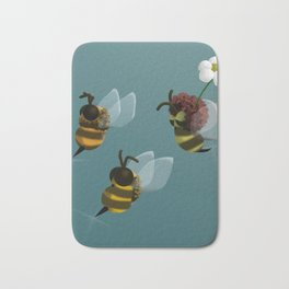 Killer bees Bath Mat