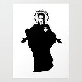 Nick Cave icon saint art Art Print