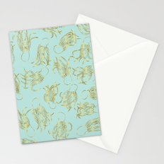 Gold Squid (Mint) Stationery Cards