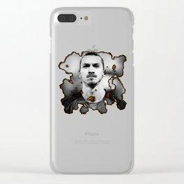 zlatan ibrahimovic Clear iPhone Case