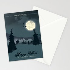 Sleepy Hollow art movie inspired Stationery Cards