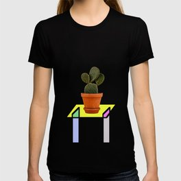 Abstract Reality - Cactus On A Table T-shirt