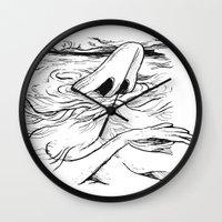 breathe Wall Clocks featuring Breathe by MrCapdevila / Bingo