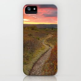 Dolly Sods Twilight Trail iPhone Case