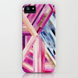 LINEA 019 Abstract Collage iPhone Case