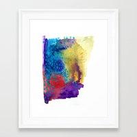 shield Framed Art Prints featuring Shield by Jessalin Beutler