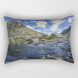 Pen yr Ole Wen and Tryfan Rectangular Pillow