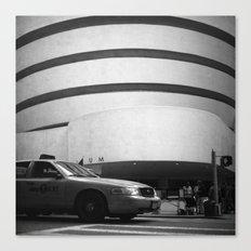 taxi // film // Canvas Print