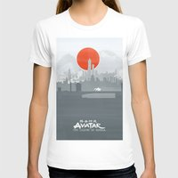 the legend of korra T-shirts featuring Avatar The Legend of Korra Poster by Fabio Castro