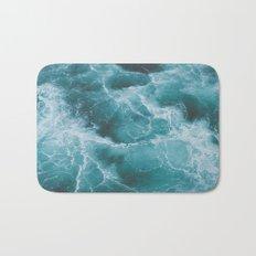 Electric Ocean Bath Mat