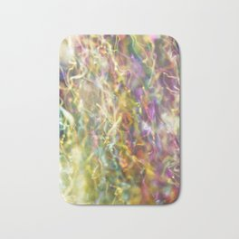IRIDESCENT COLOURS OF SOAP FILM Bath Mat