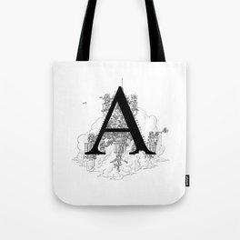 Alphabetanauts - A Tote Bag