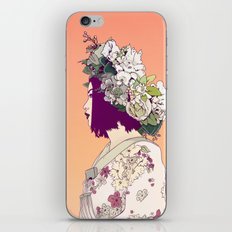 Geisha Under the Sun iPhone Skin