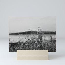 Antelope Island B&W Mini Art Print